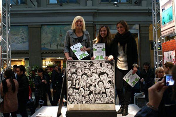 Elskåpskonst och kulturpris till designstudenter