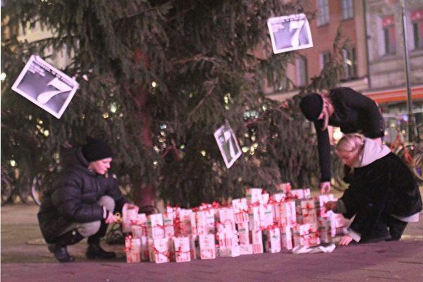 Studenter Brand X-kuppar på Stureplan