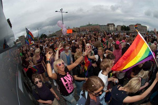 Stockholm Pride samarbetar med Berghs