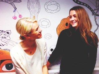 Emilia Brandt och Elina Carle på praktik i USA