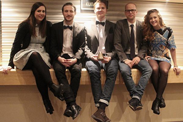 Berghsstudenter kammar hem guld på Gulltaggen i Oslo