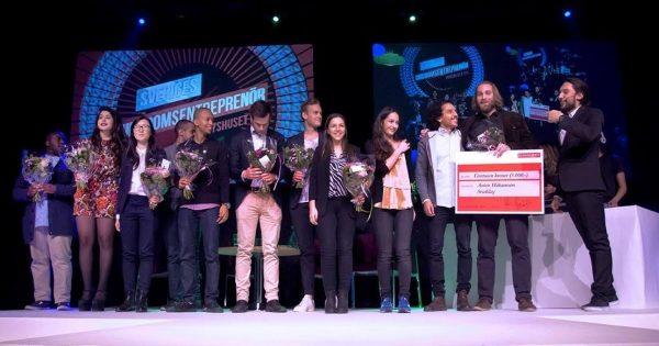 Berghsstudent vann Reach For Change Changeleader!