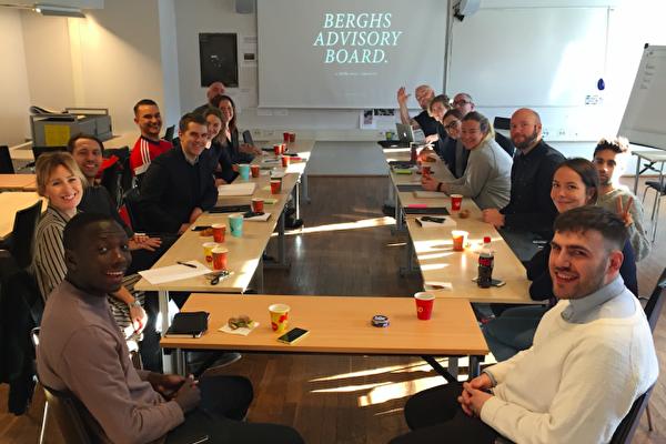 Och där gick startskottet för Berghs Advisory Board 2016