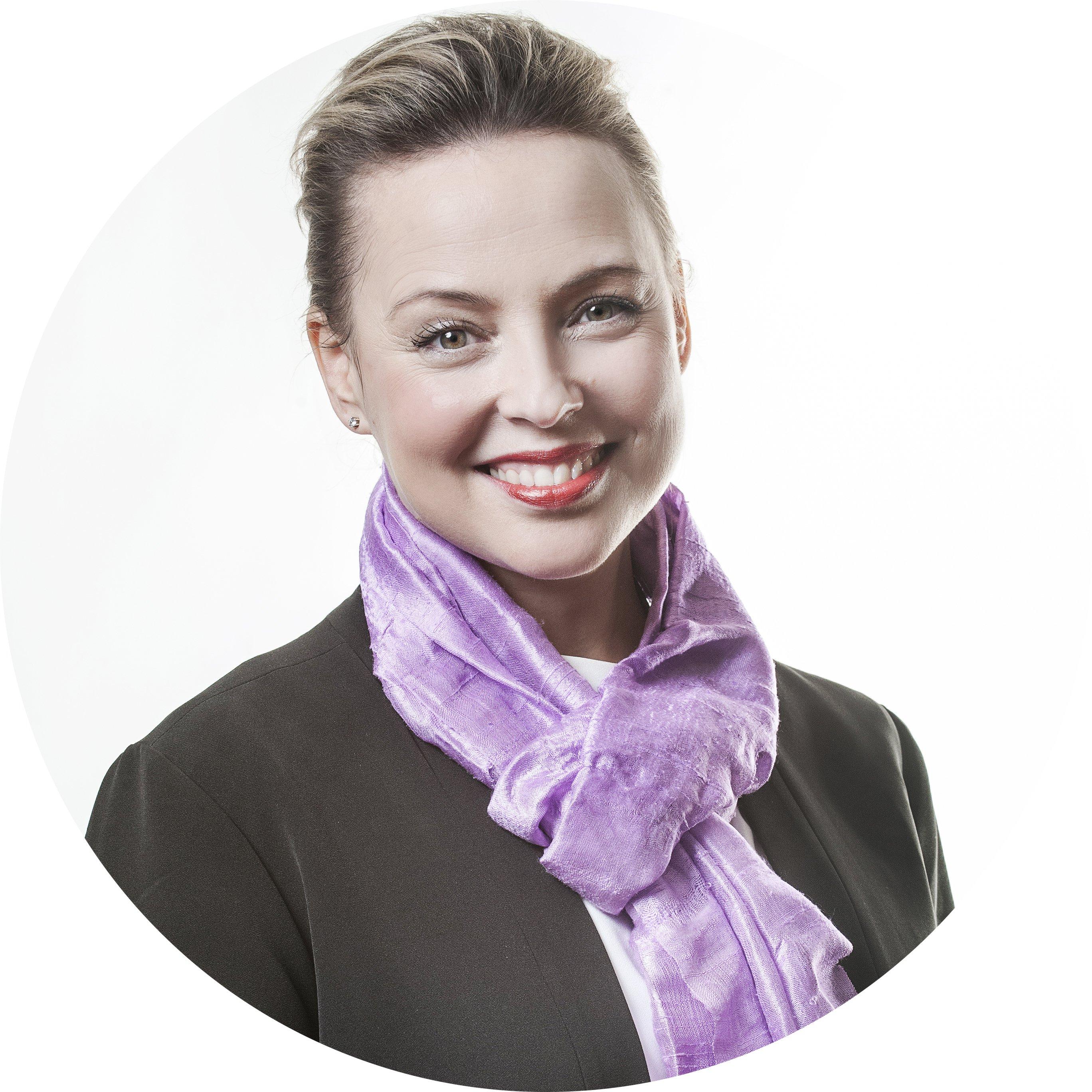 Tina Rudin Kaikkonen, VD och kommunikationsstrateg