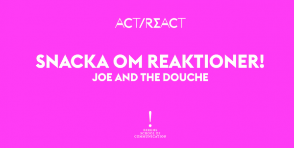 Snacka om reaktioner! del 1 –  Joe and The Juice