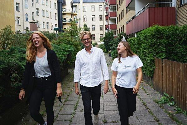 Byrå anställde tre Berghs-studenter på en gång