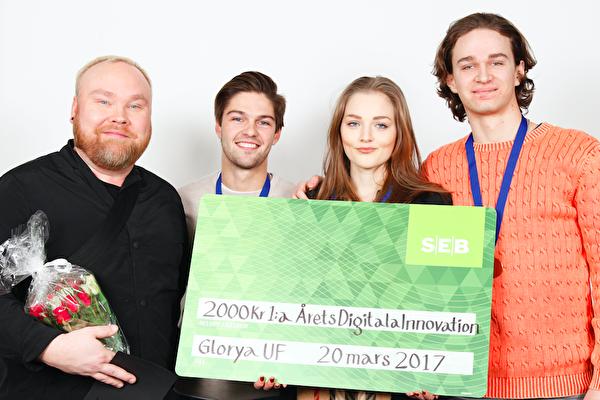 Här är vinnarna i Årets Digitala Innovation på UF