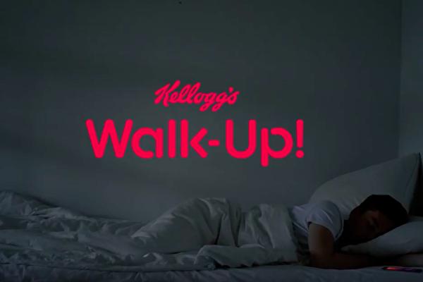 Kellogg's Walk Up kammade hem storpris i Norge