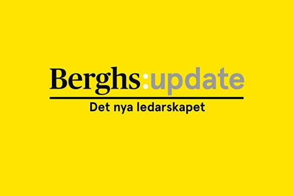 Berghs i Almedalen: Det nya ledarskapet