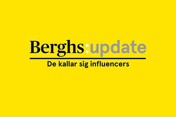 Berghs i Almedalen: de kallar sig influencers