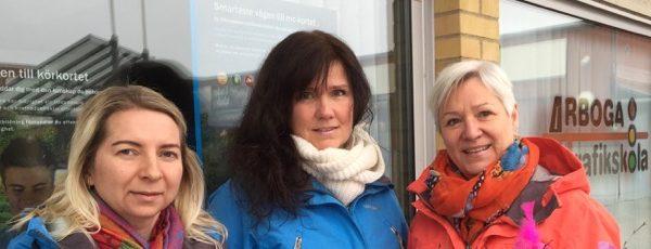 Arboga Trafikskola vinnare i Berghs auktion i Musikhjälpen 2017!