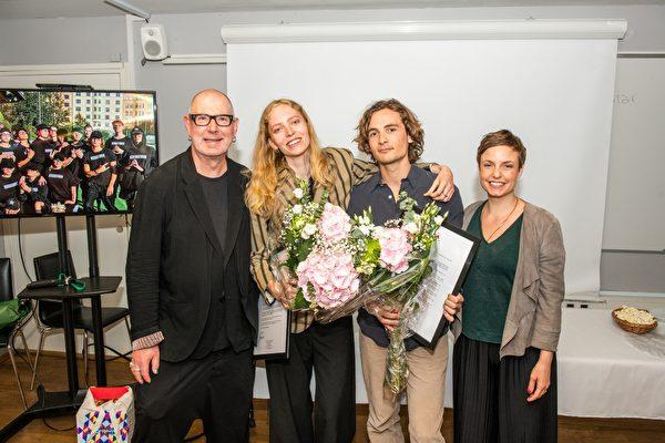 Fredrika och Martin är 2019's Allerstipendiater