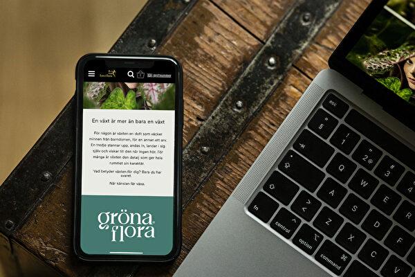 Berghs studenter bakom den lyckade kampanjen ''Gröna Flora''