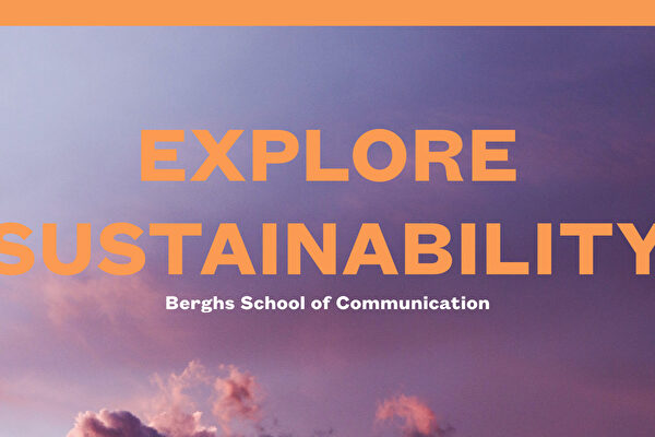 """Fokus på """"välmående"""" för heltidsstudenterna i kursen Explore Sustainability"""